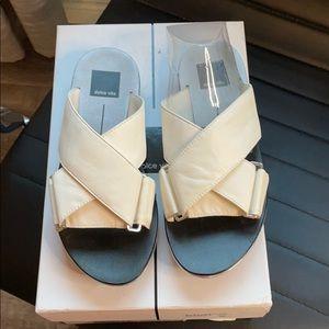 NWB Dolce Vita leather slide sandals